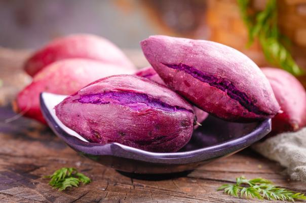 网红爆款紫薯比红薯好在哪?