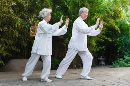 老年运动需注意,给你几点小建议
